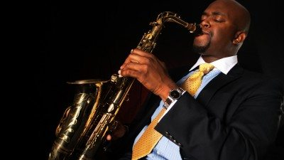 Saxophonist Randy Corinthian will perform at the Polk State JD Alexander Center on Dec. 4 and 6.