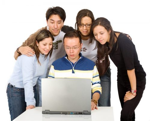bigstock-Students-On-A-Laptop-1750824