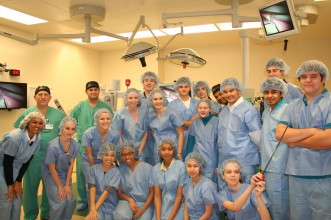 Chain of Lakes Students Robotic Surgery