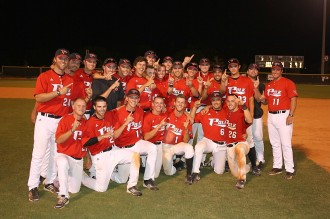 The Eagles celebrate another title Wednesday night in Winter Haven. Next up: the state tournament in Lakeland.