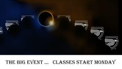 graphic of solar eclipse