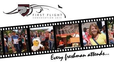 first flight student convo news