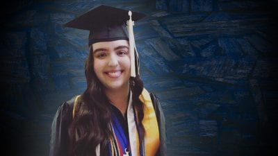 Polk State Lakeland Gateway to College salutatorian Claudia Oppelt