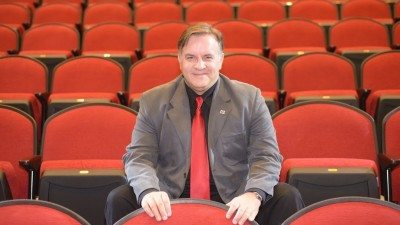 Mark Hartfield joined Polk State College in August as a professor of humanities and acting. He is also directing two Polk State Theatre productions this season.