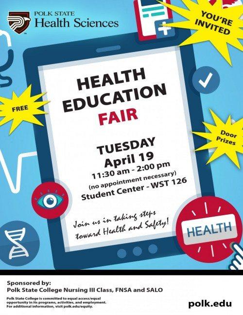 health eduction fair 160314