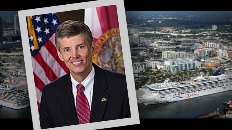 John Thorington Jr., vice president of government affairs and board coordination at the Tampa Port Authority, will speak at the Polk State Clear Springs Advanced Technology Center on March 12.