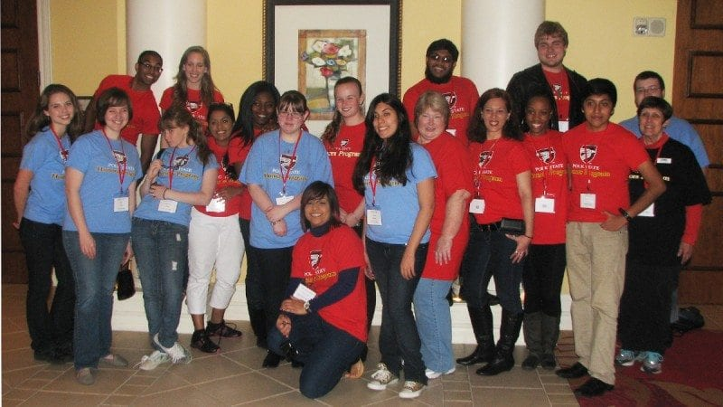 Polk State had 22 students attend the recent Florida Collegiate Honors Council Conference. Three students placed in the organization's statewide writing contest, and four students presented projects.