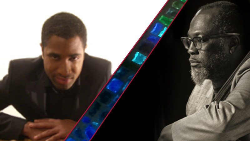 Pianist Byron Sean (L) and cellist Derek Menchan will perform at the Polk State Lake Wales Arts Center on June 20.
