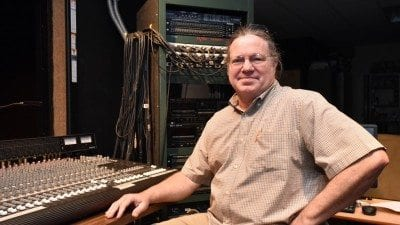 James Sharp has worked as theatre technical director at Polk State College for 27 years.