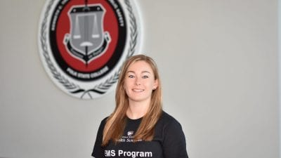 Polk State EMS student Jessica Spell
