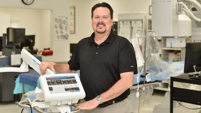 Cardiovascular Technology Program Director Kevin Ferrier