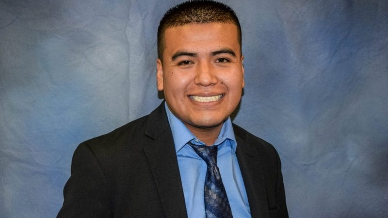 Leonel Navarrete will graduate with his Associate in Arts degree Thursday.
