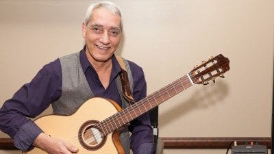 Latin guitarist Marc E will perform at Polk State on Oct. 7 and 8.