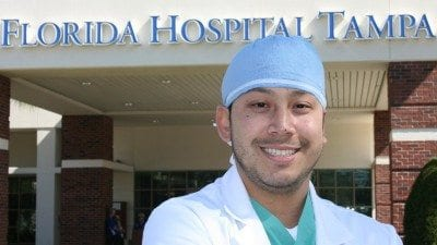 Rosevelt Nheik graduated from Polk State's Radiography program and now works at Florida Hospital Tampa.