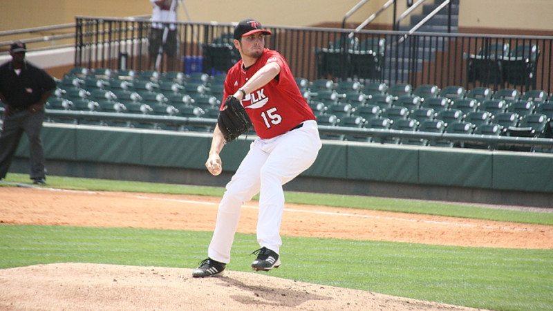 Eagles pitcher Alec Asher
