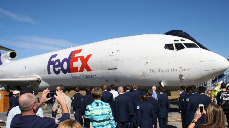 A plane FedEx has donated to SUN 'n FUN will also be used to teach Polk State Aerospace students.