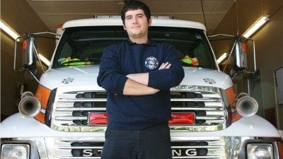 Jared vanHoek completed his paramedic training at Polk State and now works for Polk County Fire Rescue in Mulberry.
