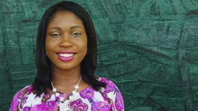 Polk State Lakeland Gateway to College valedictorian Abisola Adeyemo.