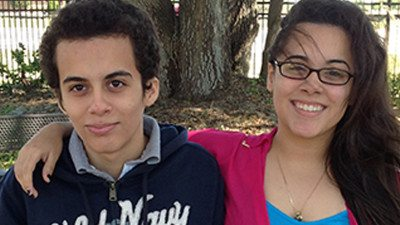 Alex (L) and Monica Manjarres have been nominated to the All-Florida Academic Team.
