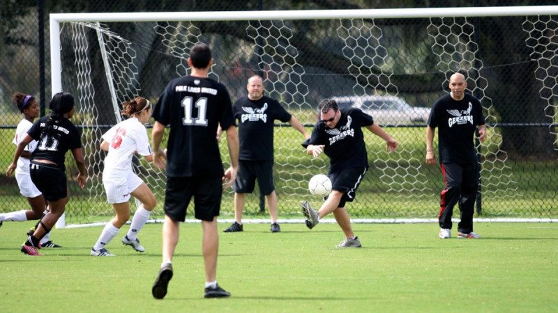 Polk State Soccer and members of the College's faculty and staff will face off on Oct. 24 during the College's third annual United Way Soccer Match.