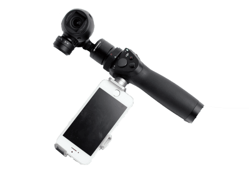Image of the DJI Osmo stabilizer