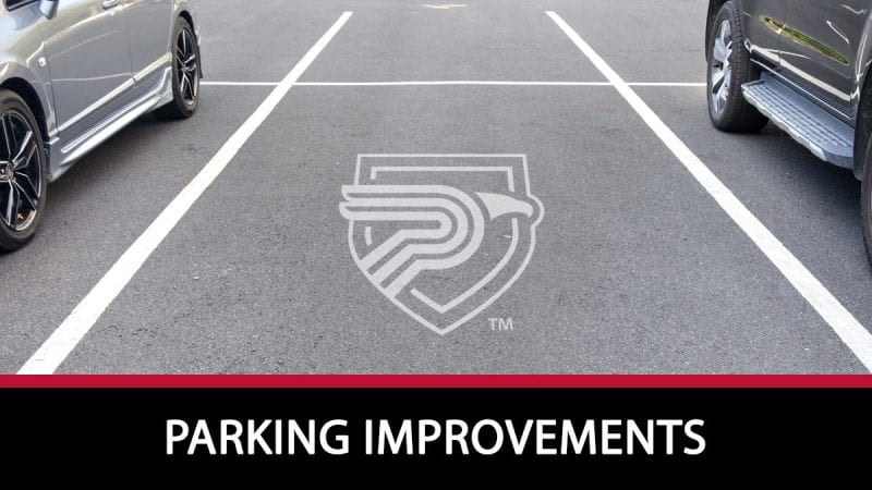 Parking improvements