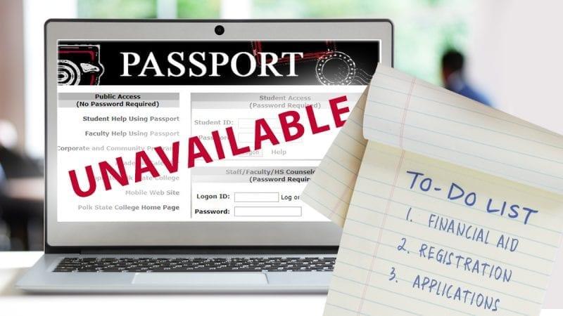 PASSPORT UNAVAILABLE