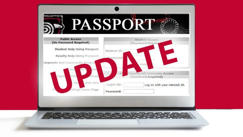 PASSPORT update