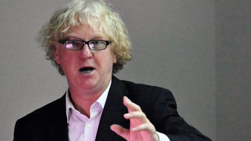 Stonehenge researcher David Jacques spoke at Polk State on Tuesday.