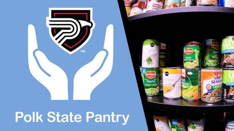 Polk State Pantry A Helping Hand For Students Who Need Food And