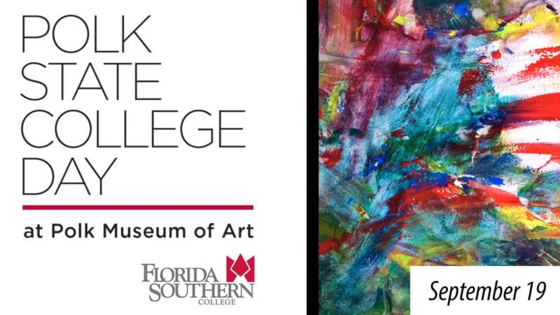 Polk State College Day at Polk Museum of Art at Florida Southern College