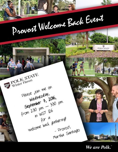 provost welcome back2 160808
