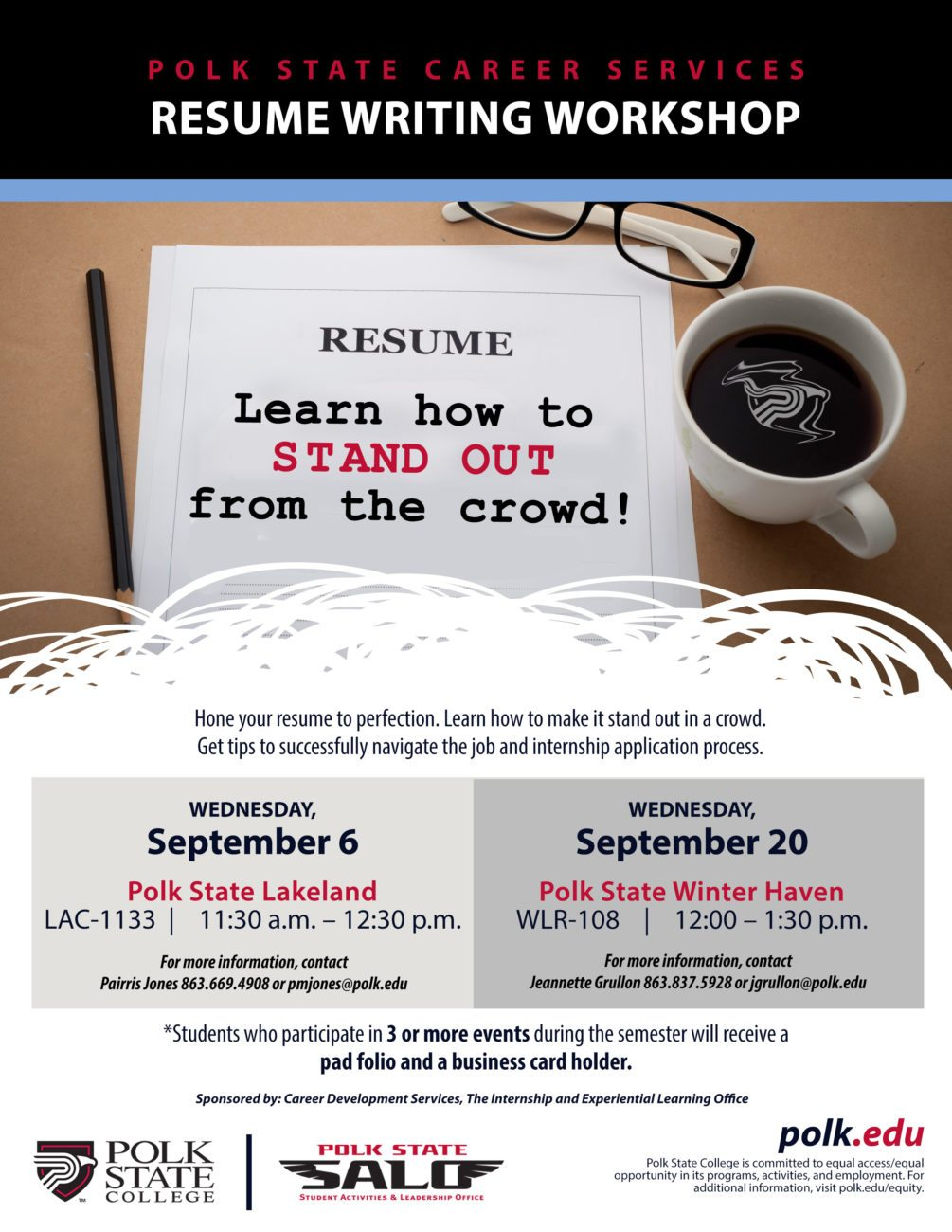 Resume Workshop Extraordinary Polk State Career Development Services Resume Writing Workshop