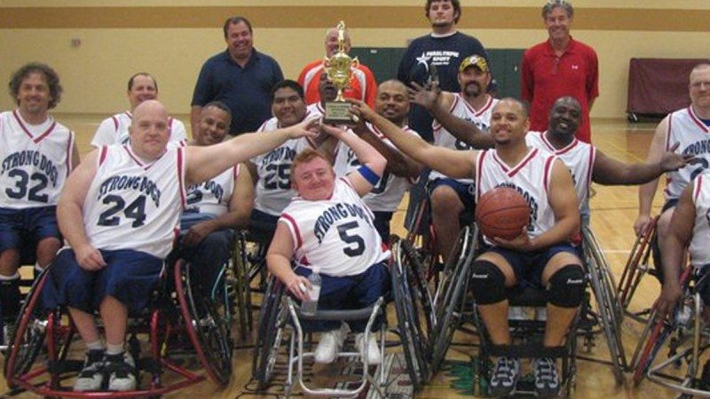 The Tampa Bay Strong Dogs, a semi-professional wheelchair basketball team, return to Polk State on Nov. 14.