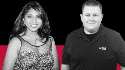 Diane Thomas and John Ford will graduate during Polk State's 112th commencement ceremony on Thursday.