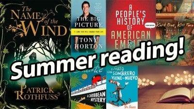 summer reading NEWS
