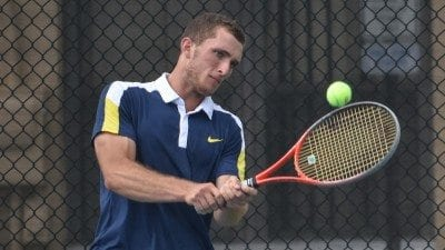 Polk State Chain of Lakes Collegiate High School senior John Portlock will compete with Winter Haven High School at the FHSAA Class 3A state tennis finals this week.