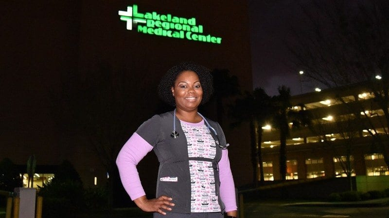 Terri Dixon graduated from Polk State's Respiratory Care program in 2014. She is now a respiratory therapist at Lakeland Regional Medical Center.