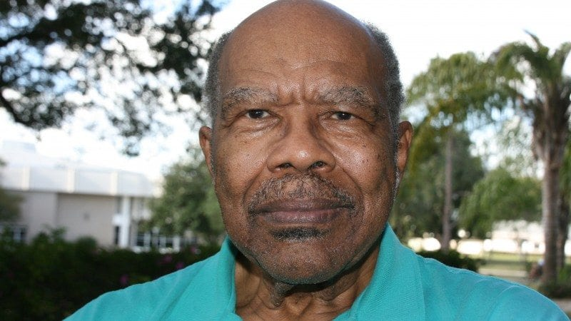 Ulysses Johnson was hired as a counselor at Polk State in 1969, becoming one of its first African-American employees.