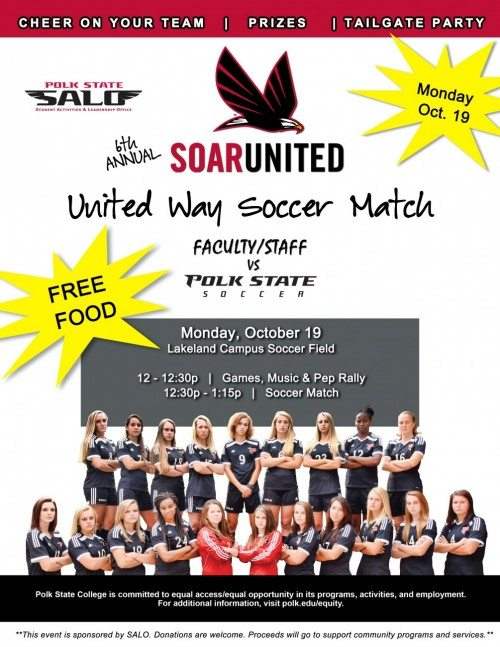 united way soccer match